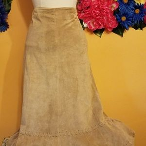 NWT Chico's 100% leather skirt size 0